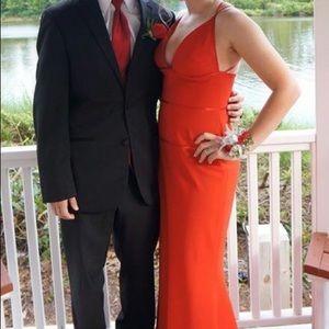 Jill Stuart size 4 red prom dress